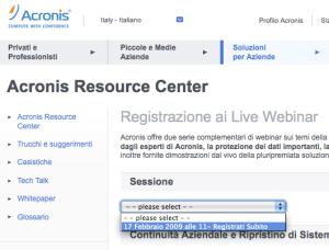 Acronis Webinar