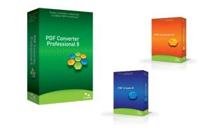 Famiglia dei prodotti PDF 8