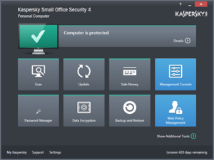 Kaspersky Small Office Security 4